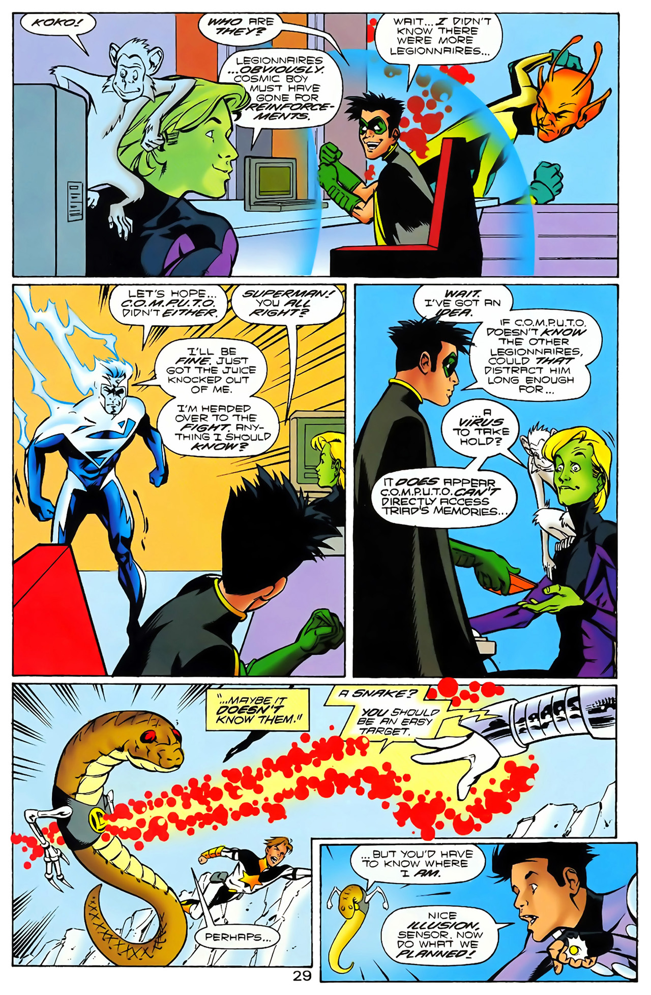 Legion of Super-Heroes (1989) 100 Page 27
