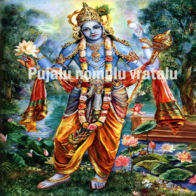 Sri Hari namaashtakam in English,vishnu images