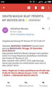 Undangan Masuk Gratis HelloFest 2016