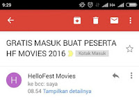 Alhamdulillah, gratis masuk buat peserta HelloFest Movie 2016