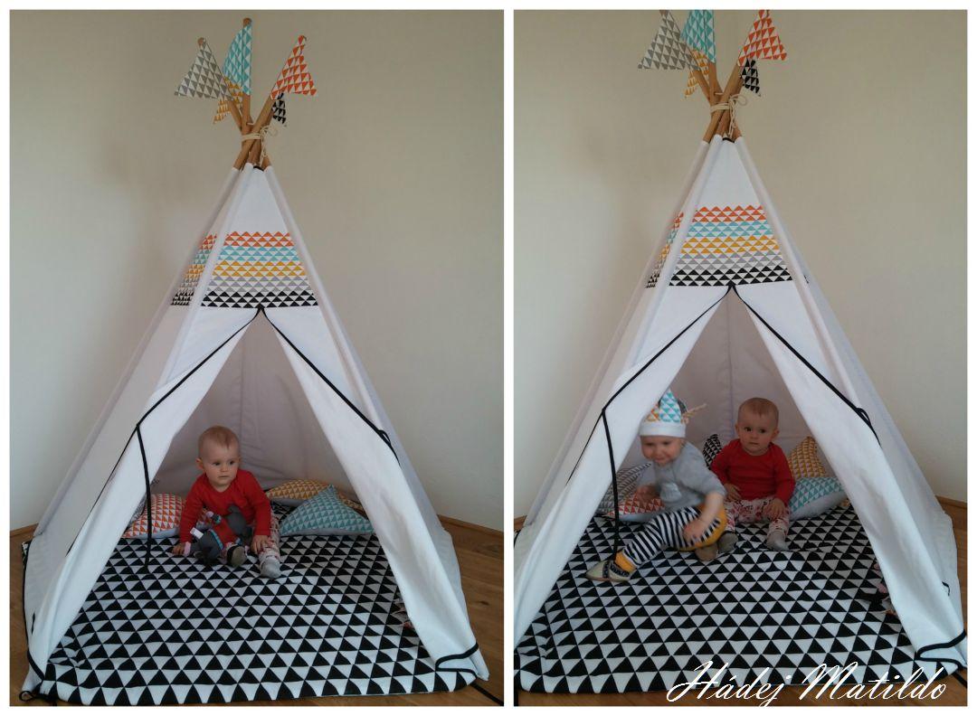 dětské stany, teepee, týpý, elen living