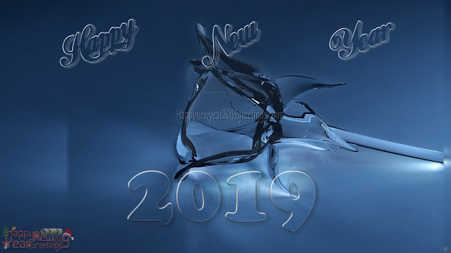 3D New Year 2019 Desktop Background Download - 2019 New Year Full HD 3D Desktop Background Wallpapers Download Free
