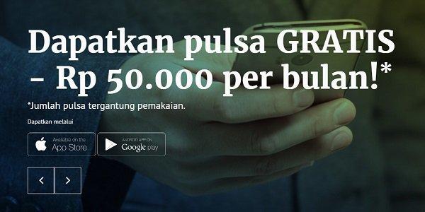 Cara Dapat Pulsa Gratis Rp 1500 Setiap Hari