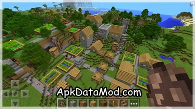 Minecraft - Pocket Edition Apk flying sky