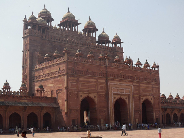 Backside of Buland Darwaza