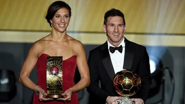 Lionel Messi Menjadi Pemenang Ballon d'Or 2015 - Harian