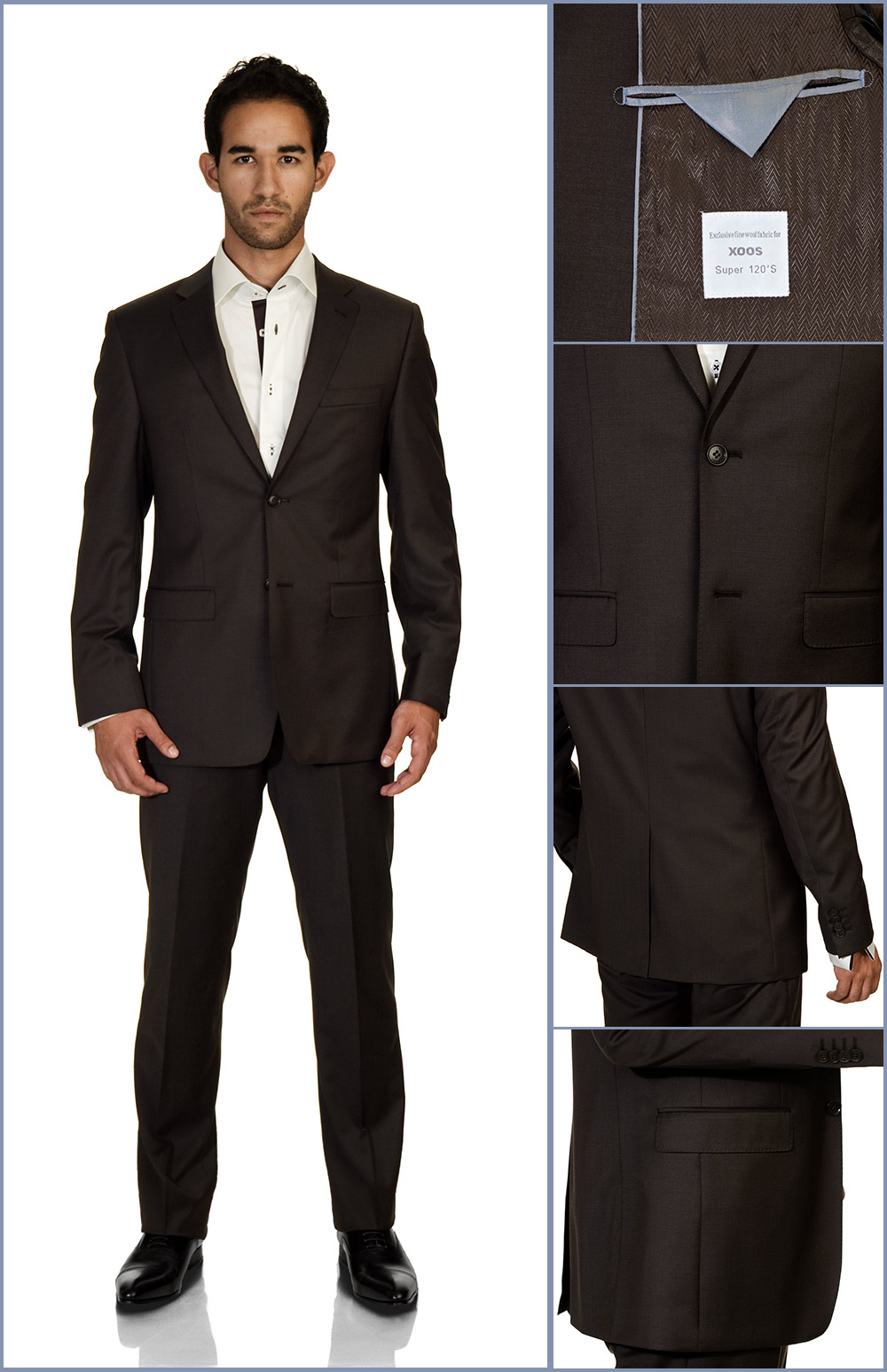 MensItaly specialize and excel in the manufacturing many products like suits, tuxedos, sports coat, slacks, silk, ties, shoes, exotic leather belts and even fine crafted cotton shirts. We strongly believe in two things: customer satisfaction and flexibility.