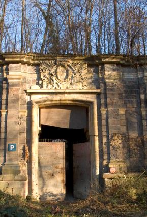 Fort Mortier (territoire de Neuf-Brisach) - Porte