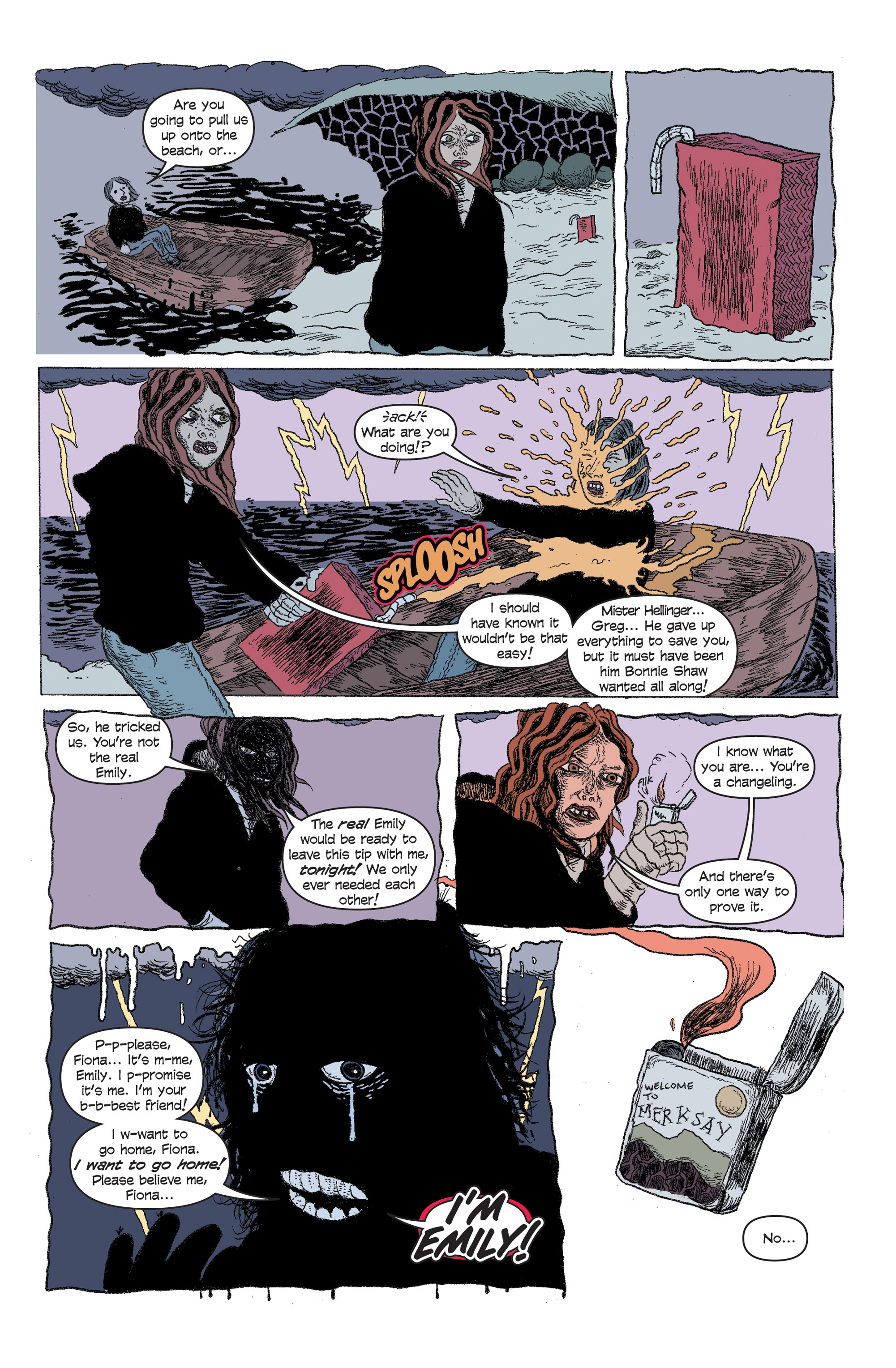 Read online And Then Emily Was Gone comic -  Issue #5 - 19