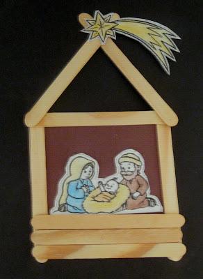 Resultado de imagem para enfeites de natal feitos com palito de picol