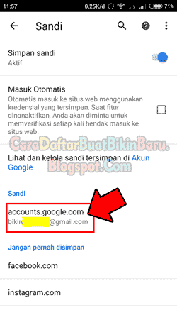 Cara Melihat Password Gmail Sendiri Yang Lupa Di Hp Android Kita Cara Daftar Buat Bikin Baru
