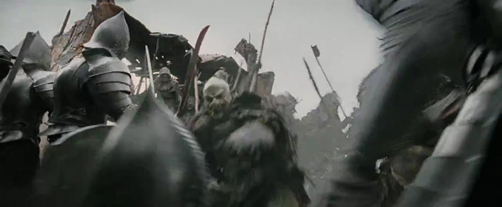 Lord Of The Rings Army Of Dead Mordor
