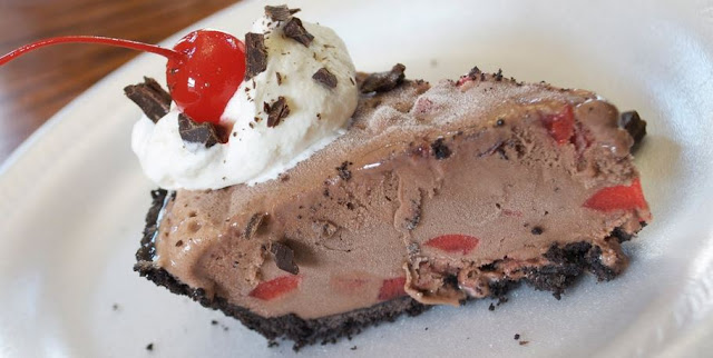 Frozen Chocolate Cherry Pie
