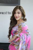 Angela Krislinzki Rogue Movie Fame Telugu Actress in Saree Backless Choli 082.JPG