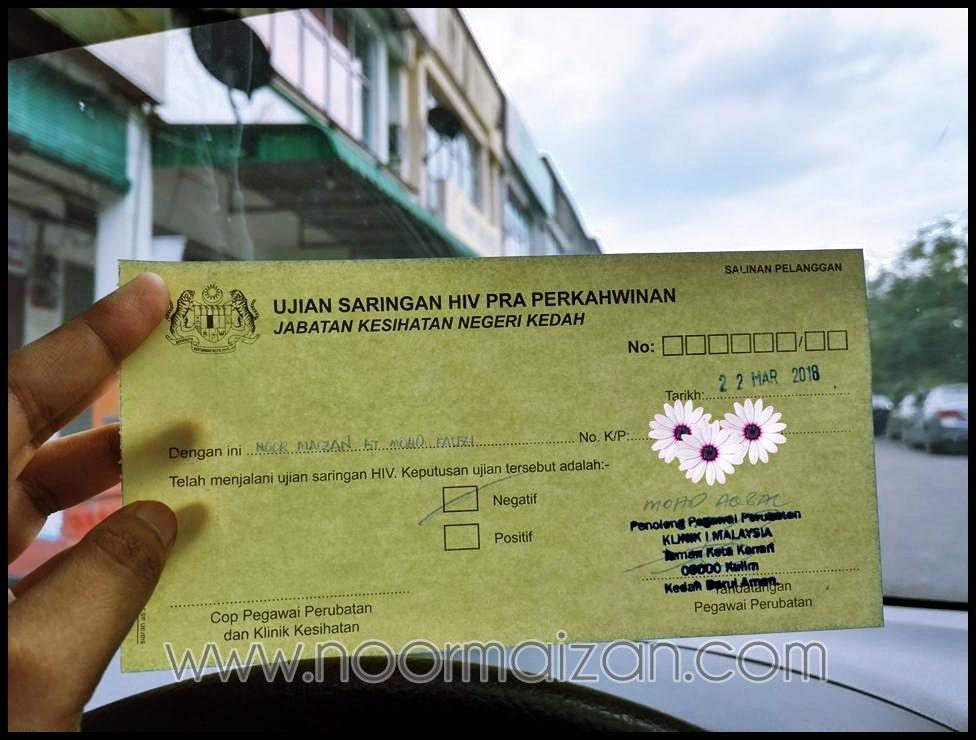 Cara Buat Ujian Saringan HIV di Klinik 1 Malaysia Kulim