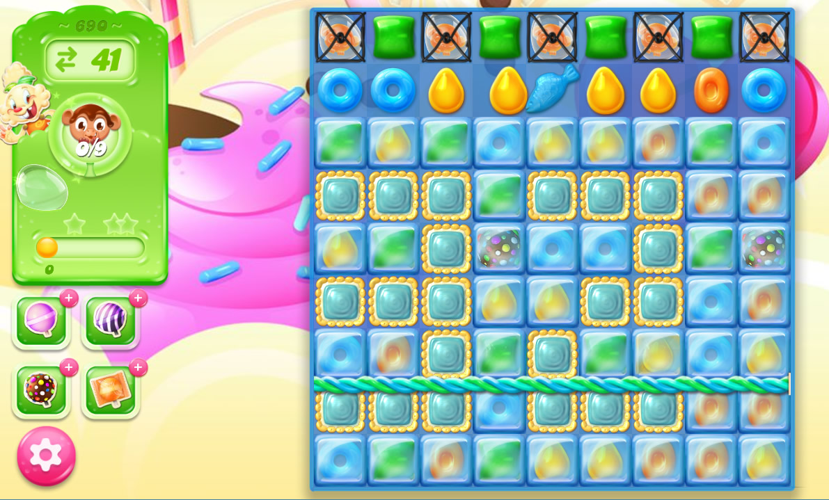 Candy Crush Jelly Saga level 690