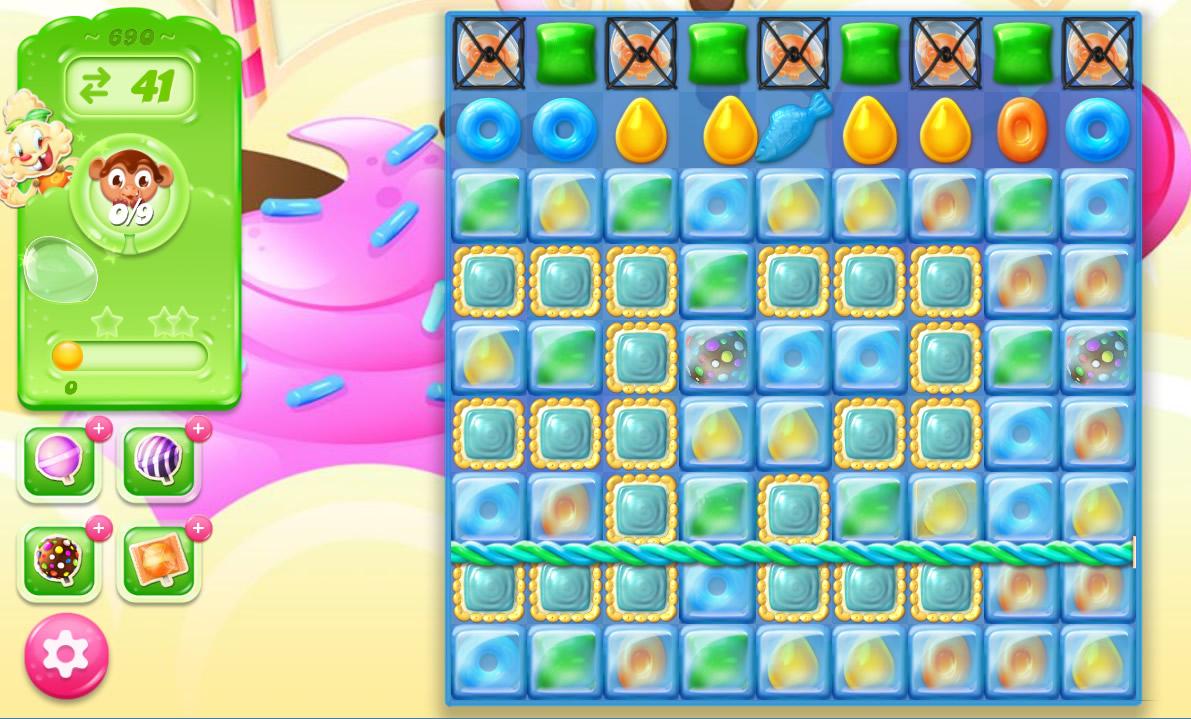 Candy Crush Jelly Saga level 690