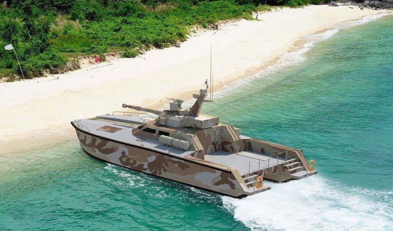 Kapal Tank atau Tank Boat Antasena