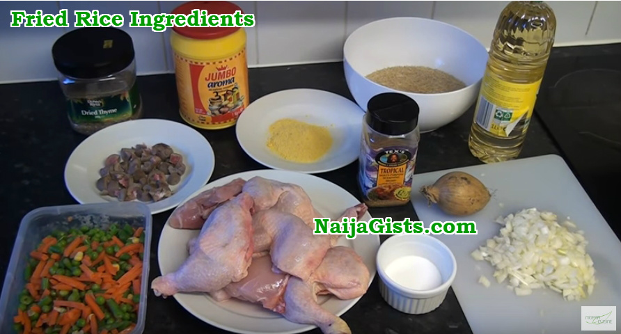 nigerian fried rice ingredients
