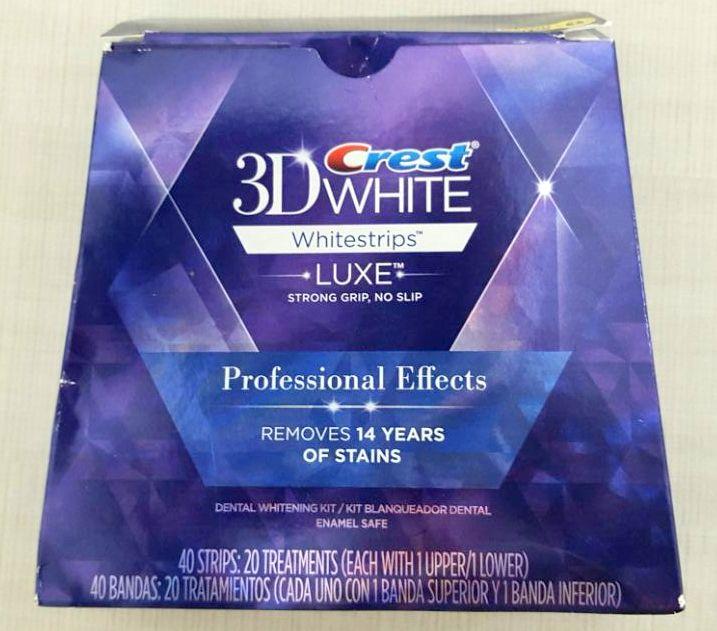 תוספת Michelle Lurie : הלבנת שיניים עם ערכת 3D WHITE של CREST AN-81