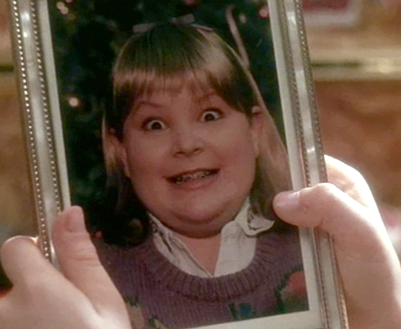 also the gag involving the photo is similar to the one in another christmas film home alone kevin finds a photo of his bully big brother butchs - Home Alone White Christmas