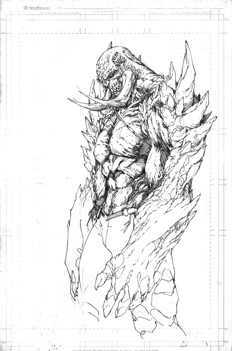 doomsday coloring pages | Demonpuppy's Wicked Awesome Art Blog: Happy Sketch ...