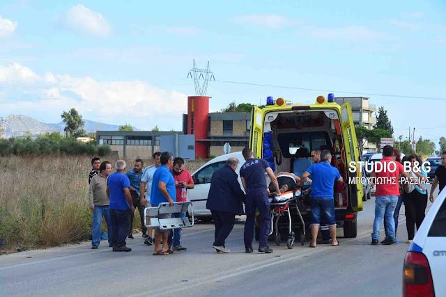 Αργολίδα: Σοβαρό τροχαίο με τραυματισμό στο Άργος