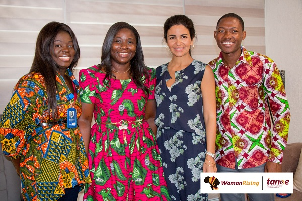 Tigo Ghana CEO, Roshi Motman Receives WomanRising Top Corporate Women Leaders Award