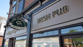The liquor license application for the new Irish pub, Teddy Gallagher's is  on the Town Council agenda for approval