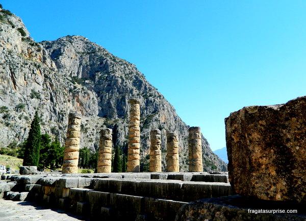 Monte Parnaso, Delfos, Grécia