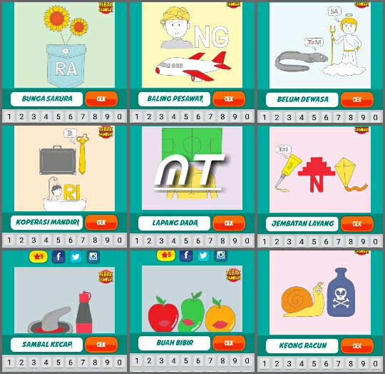 Kunci Jawaban Tebak Gambar Level 7 Guru Ilmu Sosial
