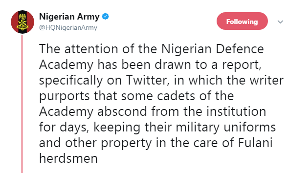 Nigerian Twitters Applauds @HQNigerianArmy  On Twitter, Clowns @PoliceNG