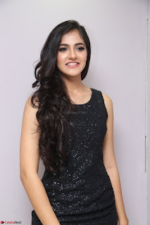 Simran Chowdary Model in Beautiful Black Dress at FBB Miss India 2017 finalists at Telangana auditions (11).JPG