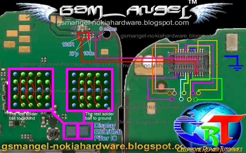 Tracking Software For Nokia E5 Light Solution - E5-00 keypad light