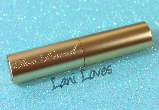 Too Faced La Creme Colour Drenched Lip Cream - I Want Candy Swatches & Review