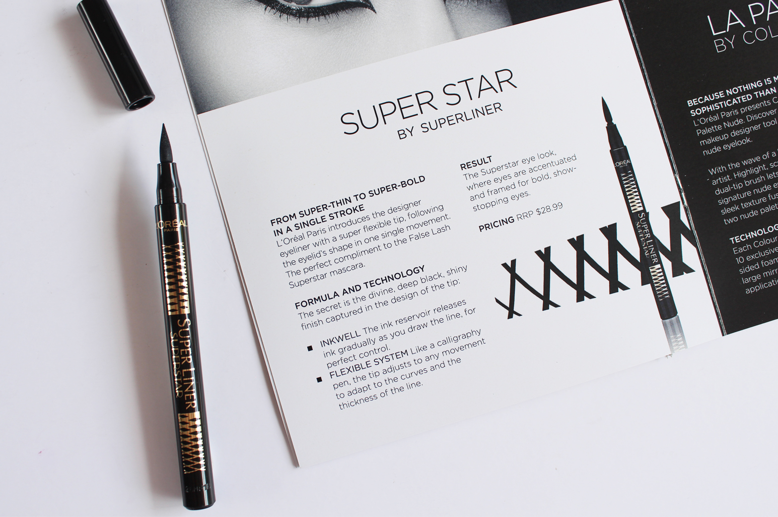 L'OREAL PARIS | New Releases New Zealand + Australia - Superliner Eye Liner, Matte FX, La Palette Nude + More - CassandraMyee