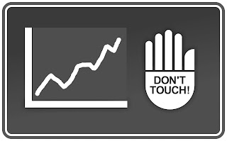 Don't Touch Investments Sign