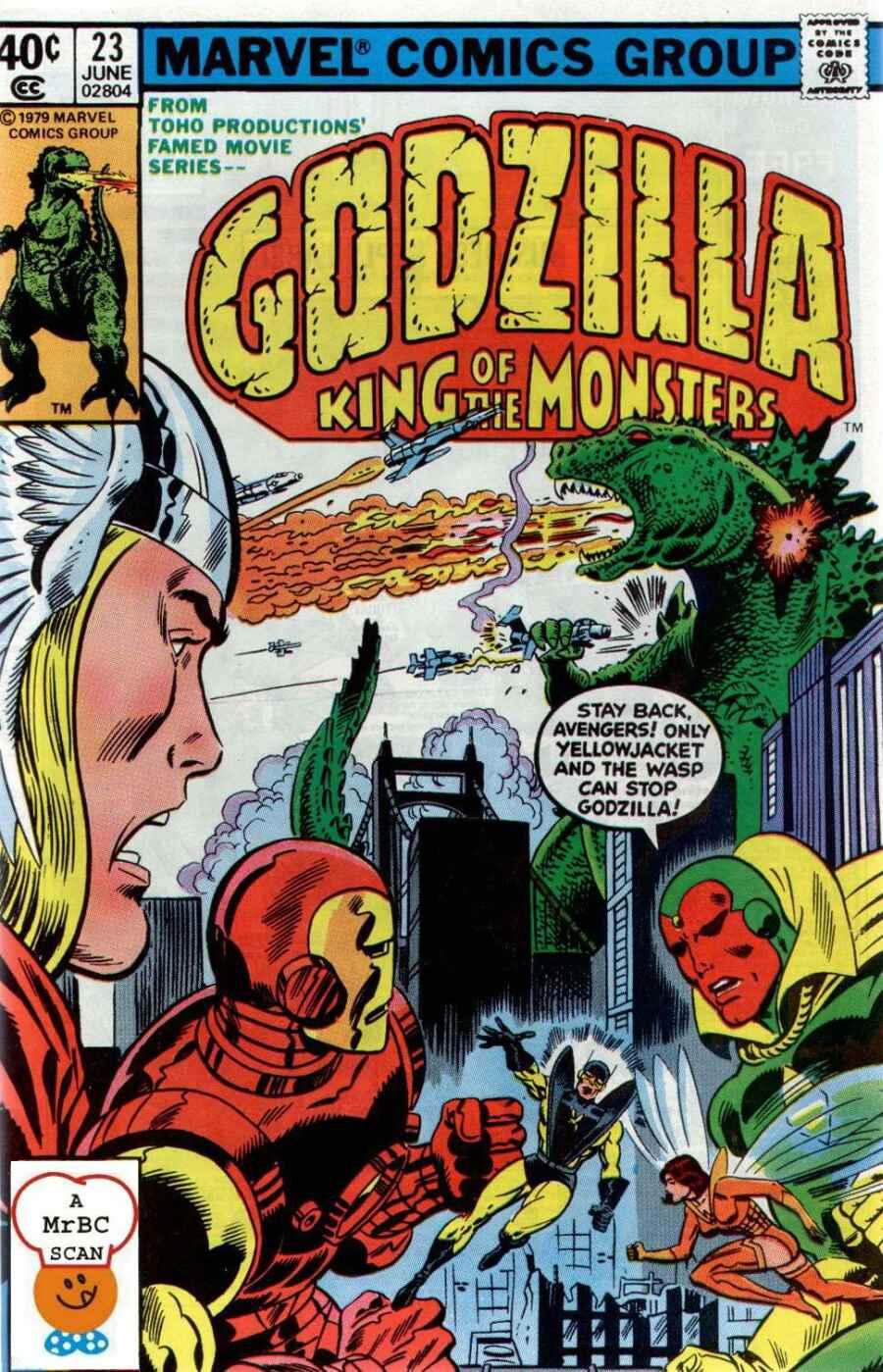 Godzilla (1977) issue 23 - Page 1