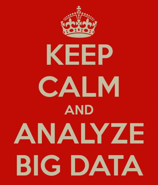 Criar meios de analisar os dados e extrair informação útil para tomada de decisão é o grande desafio! Não adianta pressa.