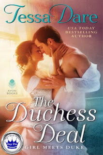 romance novel covers, historical romance, Royal Pick, The Duchess Deal by Tessa Dare