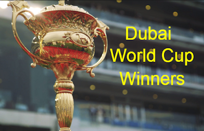 horse race, Dubai World Cup, past, champion- winners, facts-figures, by year.