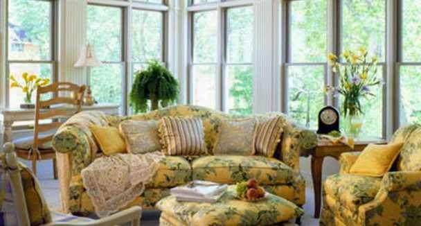 Sunroom Furniture Layout and Arrangement Ideas