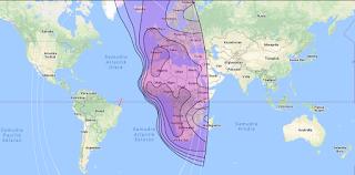 Satellite Beam NSS 10 37.4°W C Band