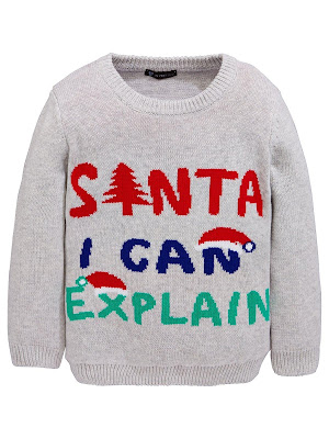 Santa I can Explain Kids Christmas Jumper