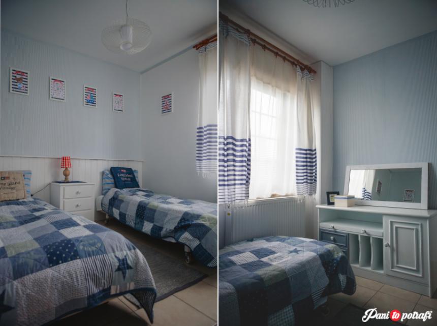 Metamorfoza Małej Sypialni W Stylu Marynistycznym Pani To