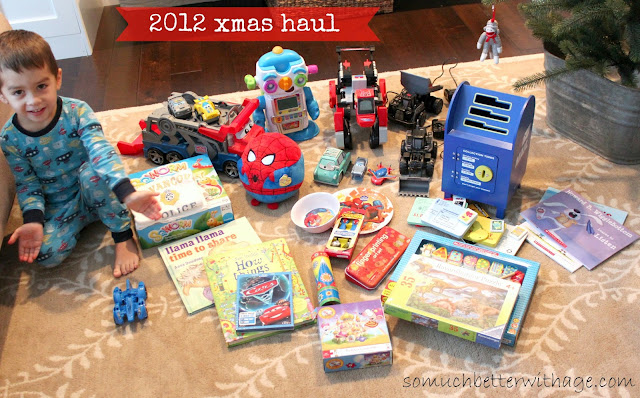 Take a photo of your christmas gifts www.somuchbetterwithage.com