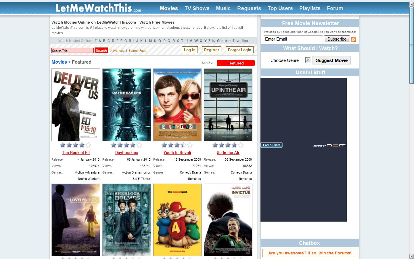 Top 11 Free Online Websites for Free Movie Watching - DVD/BD Multi-Solution Hub