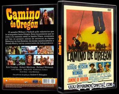 Camino de Oregón | 1967 | The Way West, Caratula, cover, dvd