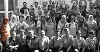 Siswa SMAN 110 dalam Acara Adiwiyata Summit 2016