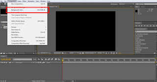 tutorial adobe after effect cs4 mengganti background composition